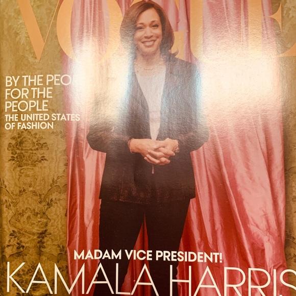 Vogue magazine collectible VP Kamala Harris NEW